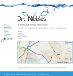 Google maps on www.drnibbles.co.uk