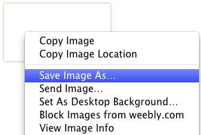 Save image as jpg or gif on your desktop