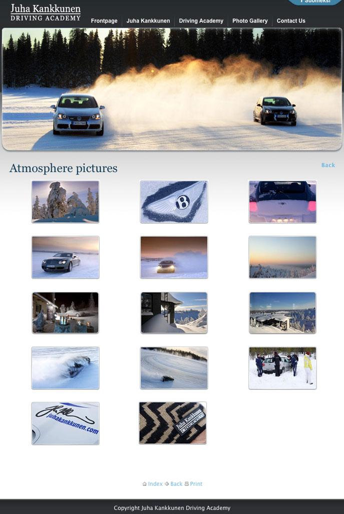 Gallery on www.juhakankkunen.com