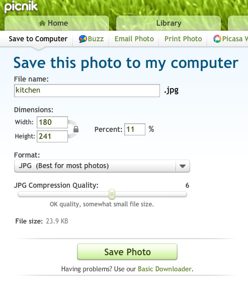 Visit the picnik support center